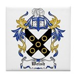 Welsh Coat of Arms Tile Coaster