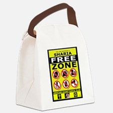 SHARIA FREE Canvas Lunch Bag