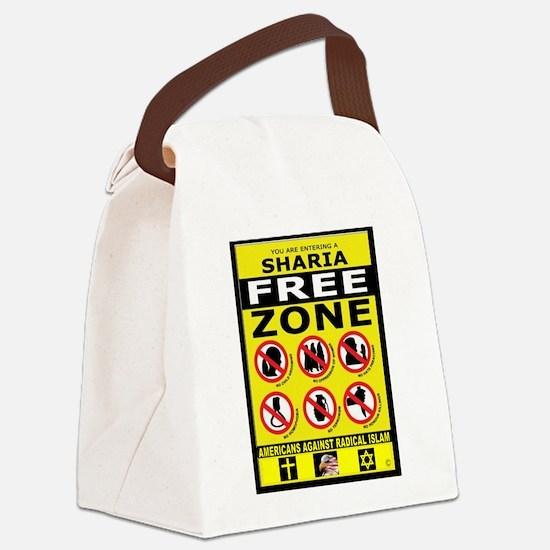 SHARIA FREE Canvas Lunch Bag