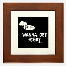 wanna ? Framed Tile
