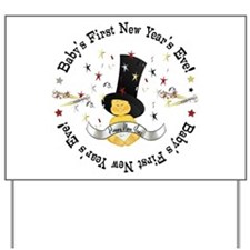 Baby's 1st New Year Yard Sign