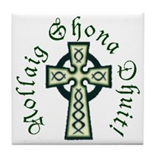 Christmas Celtic Cross Tile
