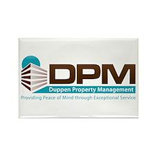 Duppen Property Management Rectangle Magnet (100 p