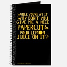 Lemon Juice Journal