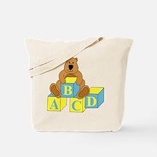 ABCDBluebear Tote Bag