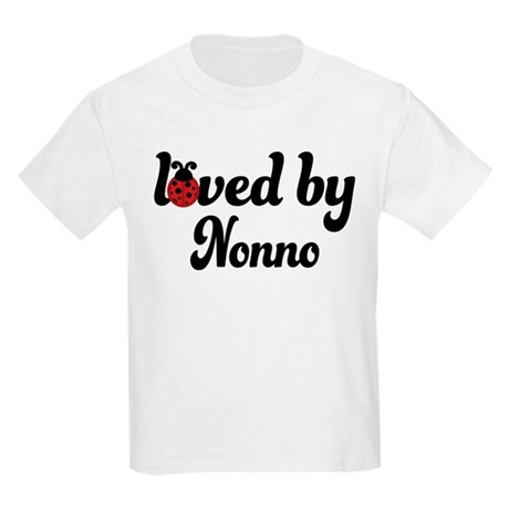 Loved By Nonno Ladybug Kids Light T-Shirt