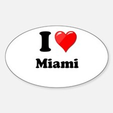 I Heart Love Miami.png Decal