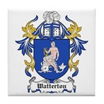 Watterton Coat of Arms Tile Coaster