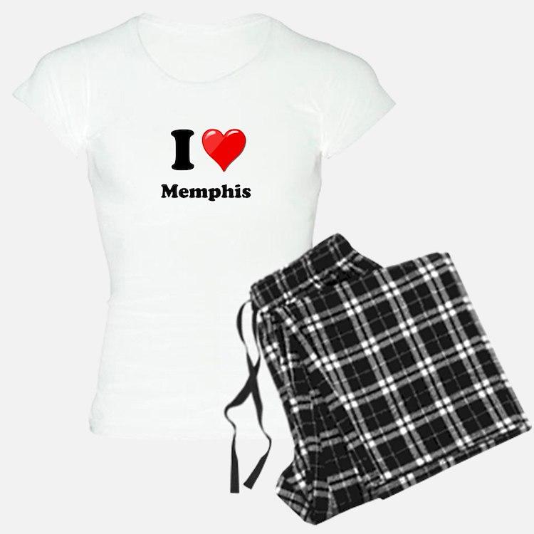 I Heart Love Memphis.png Pajamas