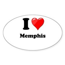 I Heart Love Memphis.png Decal