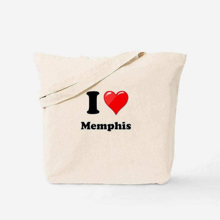 I Heart Love Memphis.png Tote Bag