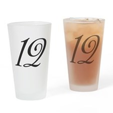 Its the number 12 Drinking Glass