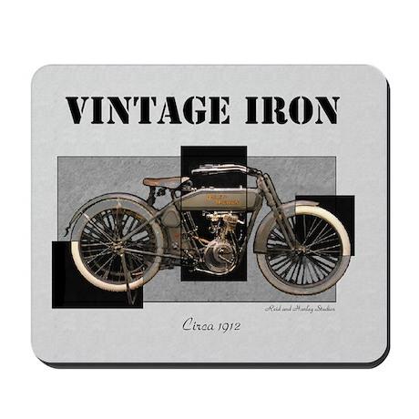 1912 Vintage Iron Mousepad