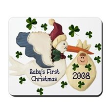Baby's First Christmas Mousepad