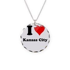 I Heart Love Kansas City.png Necklace