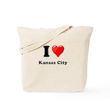 I Heart Love Kansas City.png Tote Bag