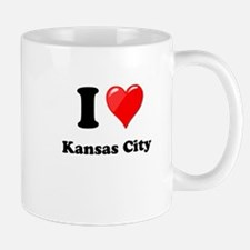 I Heart Love Kansas City.png Mug