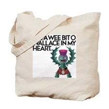 Wallace's Heart Tote Bag