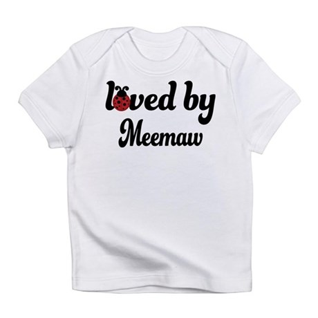 Loved By Meemaw Ladybug Infant T-Shirt