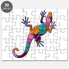 Hibiscus Lizard Puzzle