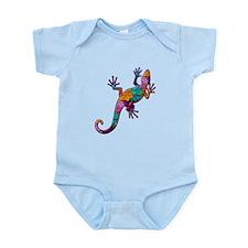 Hibiscus Lizard Infant Bodysuit