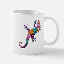 Hibiscus Lizard Mug