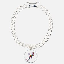 Hibiscus Lizard Bracelet