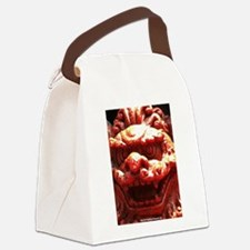 Extreme Closeup Foo Canvas Lunch Bag