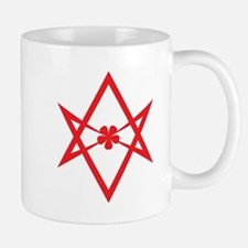 Unicursal hexagram (Red) Mug