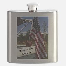 Flag Waving Foo Flask