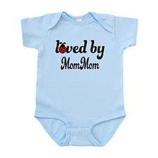 Loved By MomMom Ladybug Infant Bodysuit