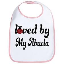 Loved By My Abuela Ladybug Bib