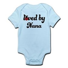 Loved By Nana Ladybug Infant Bodysuit
