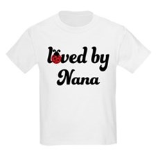 Loved By Nana Ladybug T-Shirt