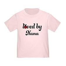 Loved By Nana Ladybug T