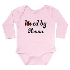 Loved By Nonna Ladybug Long Sleeve Infant Bodysuit
