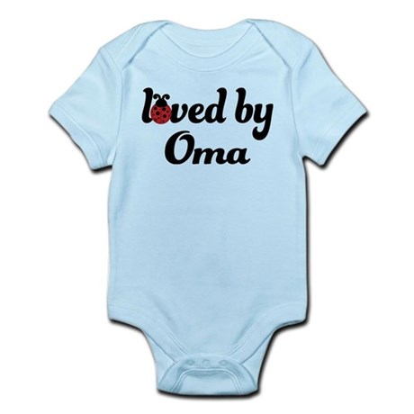 Loved By Oma Ladybug Infant Bodysuit