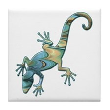 Swirl Lizard Tile Coaster