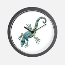 Swirl Lizard Wall Clock