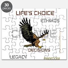 HIA Eagle design Puzzle