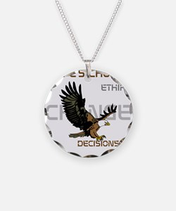 HIA Eagle design Necklace