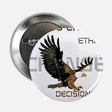 """HIA Eagle design 2.25"""" Button"""
