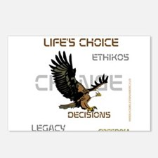 HIA Eagle design Postcards (Package of 8)