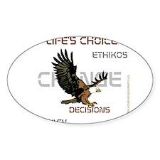 HIA Eagle design Decal