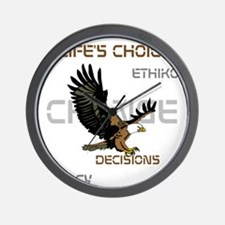HIA Eagle design Wall Clock