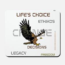 HIA Eagle design Mousepad