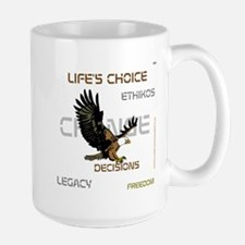 HIA Eagle design Large Mug