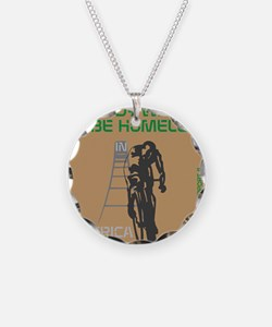 HIA Homeless Bicycle design Necklace