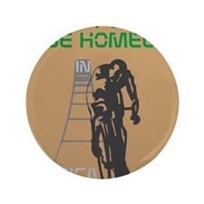 "HIA Homeless Bicycle design 3.5"" Button"