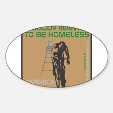 HIA Homeless Bicycle design Decal